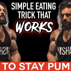 BIGGER PUMPS & Better Training | CUTTING & BULKING Food Timing Guide (Lex Fitness)
